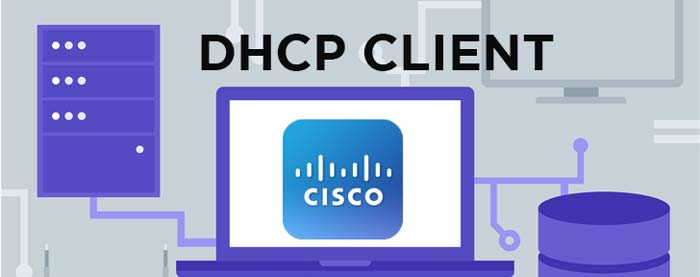 How to configure cisco router as dhcp client