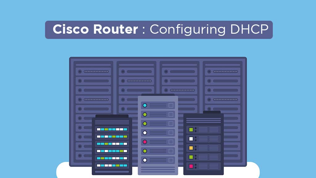 How to configure cisco router as DHCP