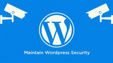 How to Maintain Wordpress Security