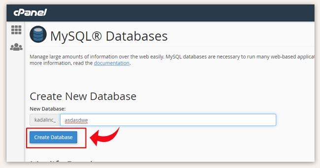 Move New WordPress Database
