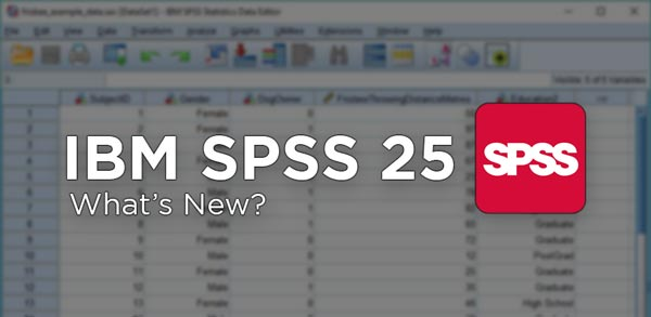 IBM SPSS 25 Crack Full Features
