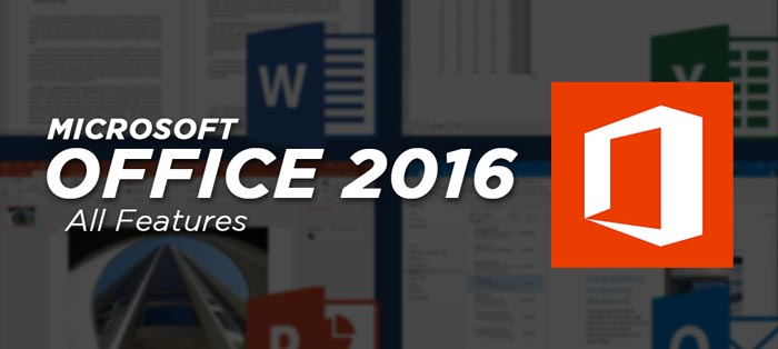 MS Office 2016 Crack Full Features