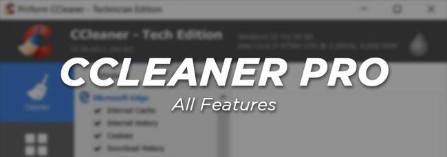 CCleaner Crack Full Features