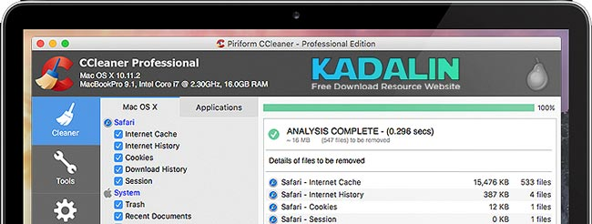 CCleaner Mac Download
