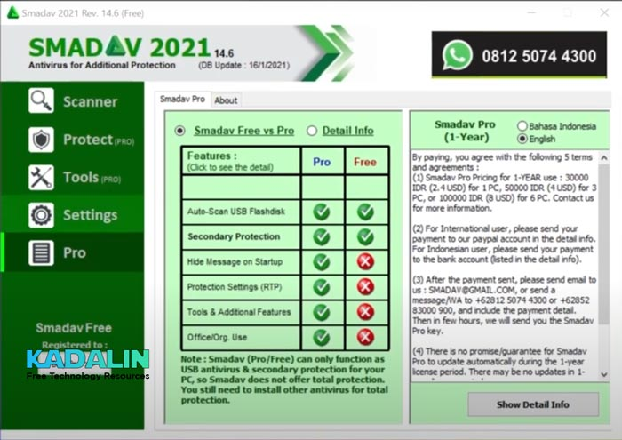 Smadav Pro 2021 Full Download with Key