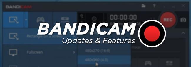 Bandicam Crack Full Features