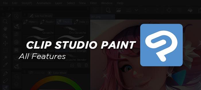 Clip Studio Paint Full Features Free