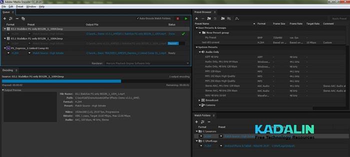 Adobe Media Encoder 2020 Free Download