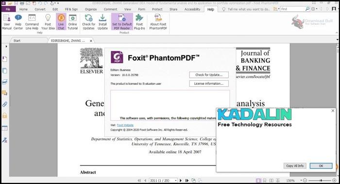 Foxit Phantom PDF Full Download + Portable Free