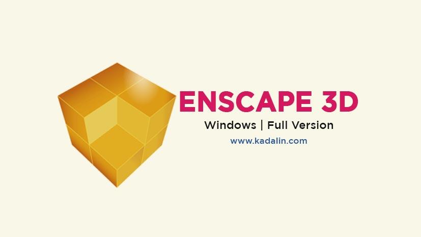 Enscape 3D Full Download With Crack