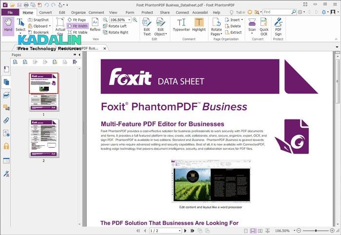 Foxit Phantom PDF Full Details with Crack