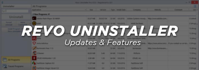 Revo Uninstaller Crack Full Features