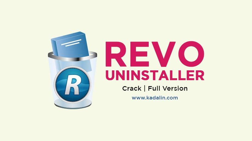 Revo Uninstaller Full Download With Crack