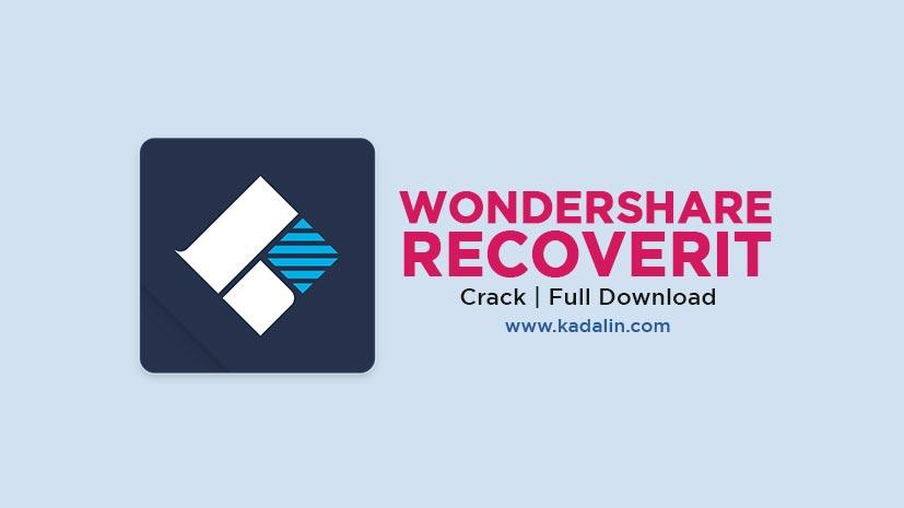 Wondershare Recoverit Full Download v9.5 Crack