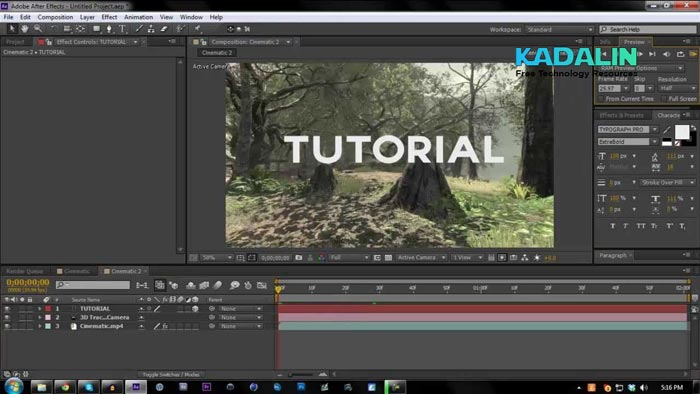 Adobe After Effects CS6 Full Software For Video Editing