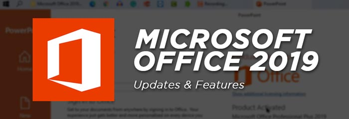 MS Office 2019 Crack Full Features