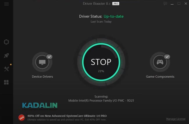 IObit Driver Booster Full Download Crack Windows