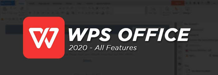 WPS Office 2020 Full Software Features