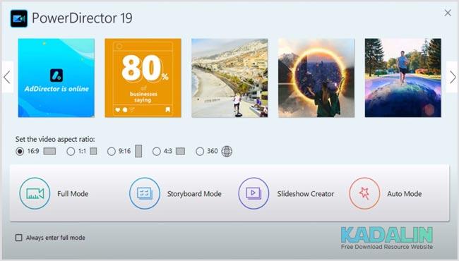 Download PowerDirector Ultimate Full Crack Windows 10