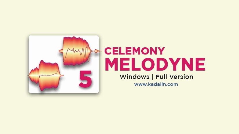 Melodyne Studio Full Download Crack Windows