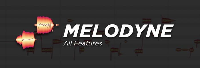 Melodyne Studio Full Software Features