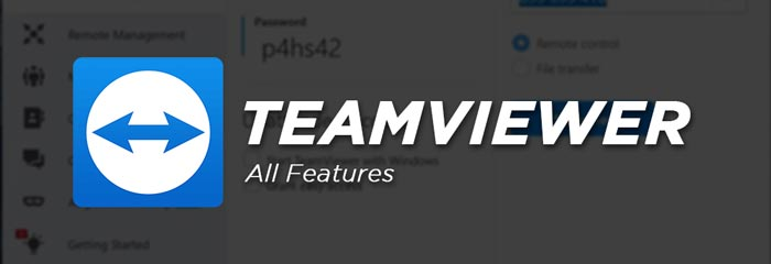 TeamViewer Full Software Features