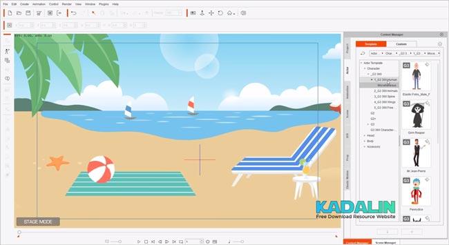 Download Reallusion Cartoon Animator 4 Full Crack Windows 10