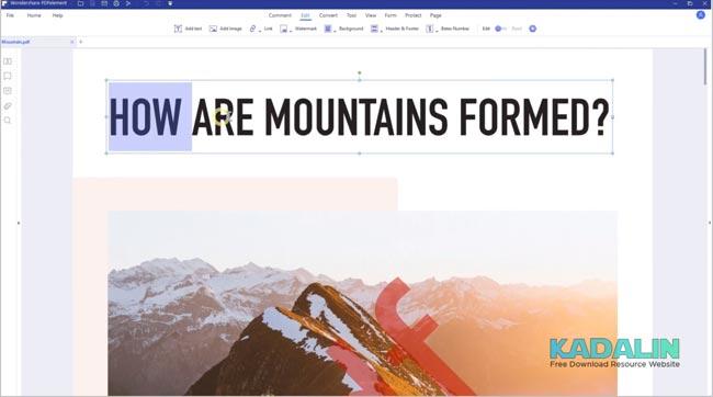 Download Wondershare PDFelement Pro Full Crack Windows 10