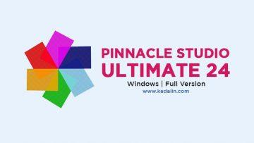 Pinnacle Studio Ultimate 24 Full Download Crack Windows