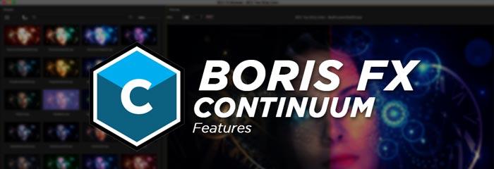 Boris Continuum Crack Full Features