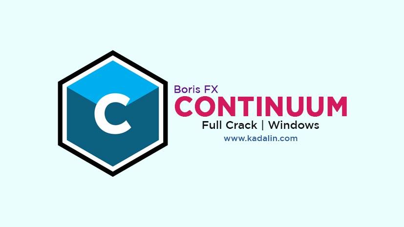 Boris FX Continuum Free Download With Crack