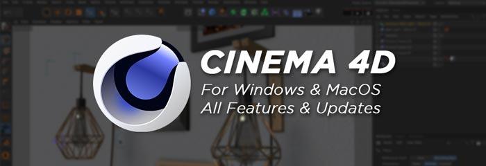 Cinema 4D Crack Full Features