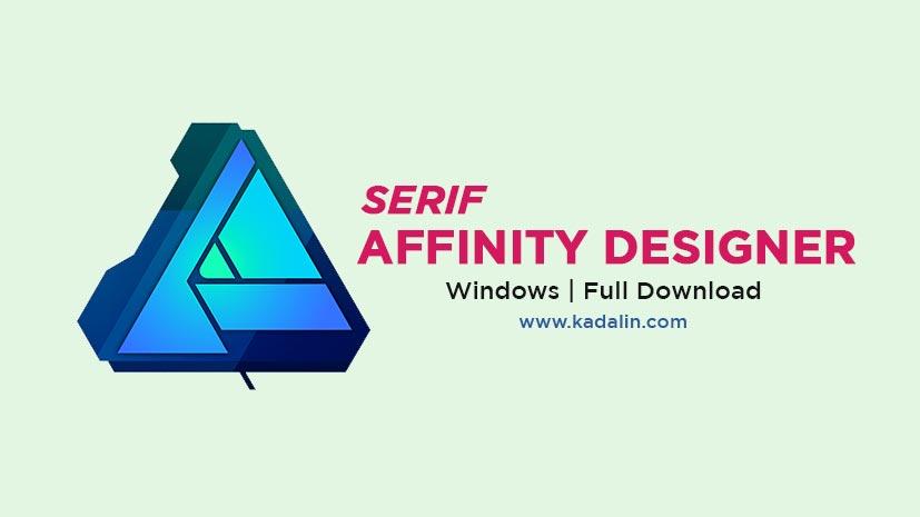 Serif Affinity Designer Full Download Crack