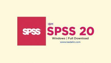 SPSS 20 Full Download Crack Windows