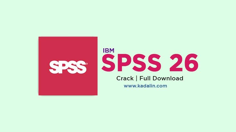SPSS 26 Full Download Crack 64 Bit