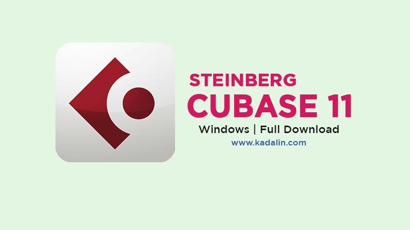 Steinberg Cubase 11 Full Download Crack Windows