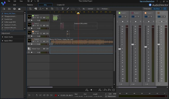 Download Cyberlink AudioDirector Full Crack