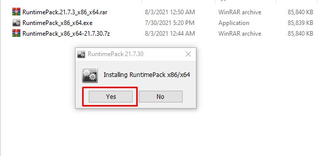 Download Runtimepack Windows